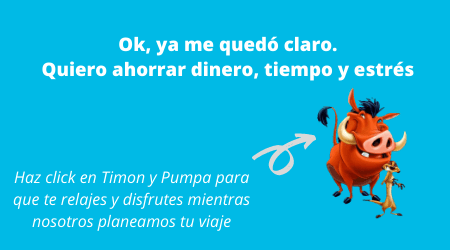 magic concierge timon pumpa viaje a disney
