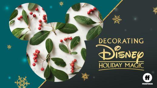 descorating disney series disney+ parques
