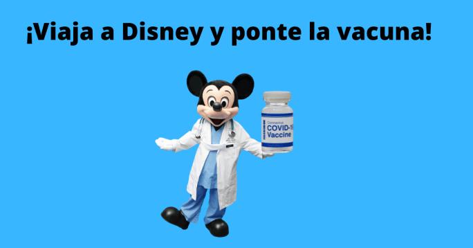 viaje disney vacuna covid