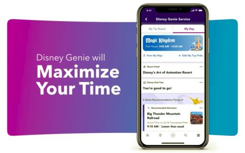 Disney genie maximizar
