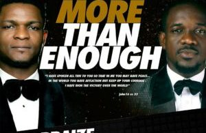 Joe Praize – More Than Enough ft. Preye Odede