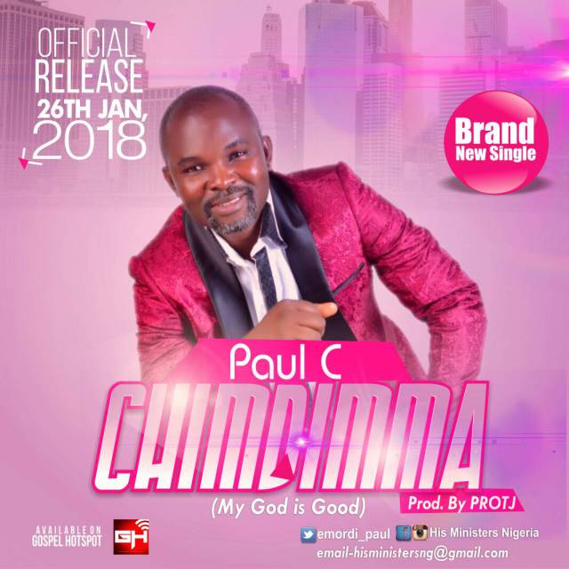 Download Music: Music:  Chimdimma Mp3 by Paul. C