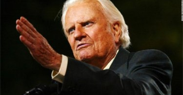"""""""The GREAT Billy Graham is dead""""Trump, others mourn his death."""