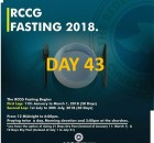 (RCCG) fasting 2018 prayer points for day 43