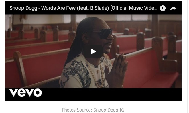 Snoop Dogg Ft  B Slade - Words Are Few (Mp3 Download)+ Video