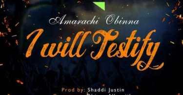 Download Music: I Will Testify Mp3 By Amarachi Obinna