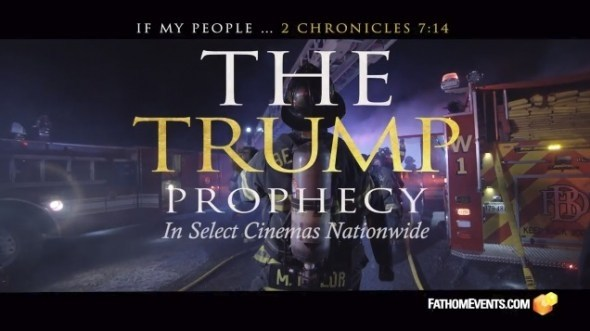 "New Christian Movie ""The Trump Prophecy"" To Be Shown In Cinemas Oct 2 & 4"