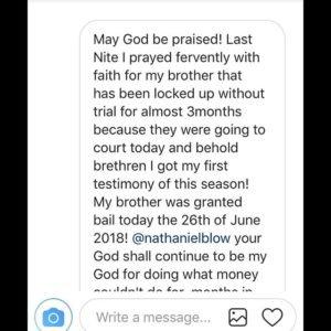 Hallelujah Challenge 2018 Testimonies.