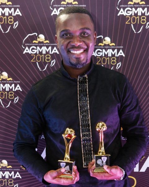 Joe Mettle Wins the African Gospel Music Award And Media Awards 2018