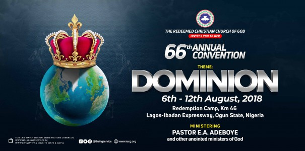 RCCG 66th Annual August Convention 2018 Programme Schedule