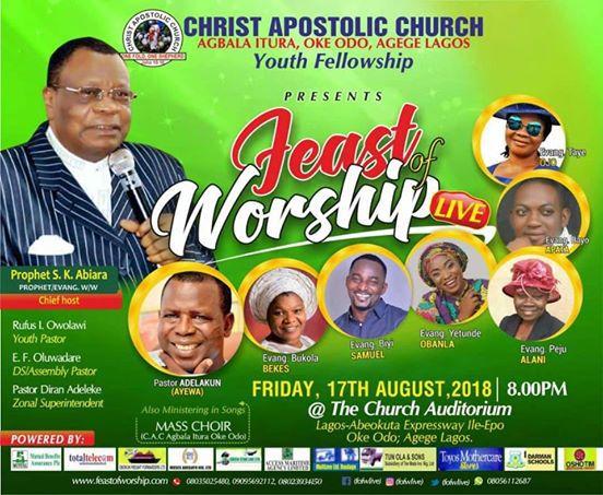 Feast Of Worship 2018 With Bukola Bekes, Yetunde Obanla, Biyi Samuel & Many More