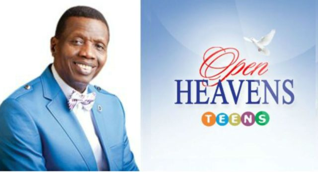 Teens Open Heavens 26 November 2018 – Quenching His Thirst
