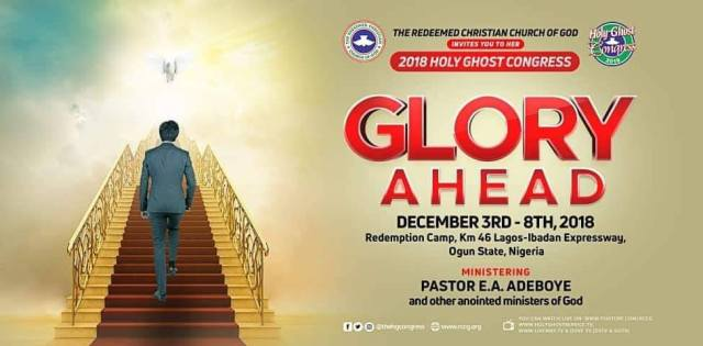 RCCG December 2018 Holy Ghost Congress