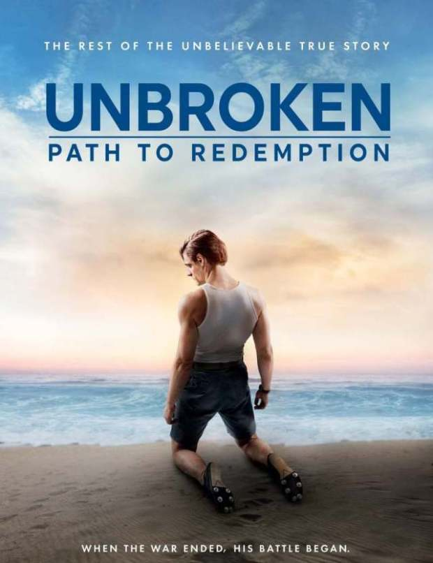 Watch & enjoy Unbroken: Path to Redemption DVD