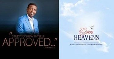 todays Open Heaven devotional 6 April 2019 – He Makes The Night Good Also
