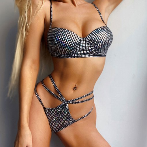 silver delux bikini