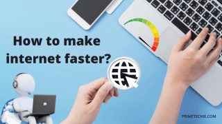 how to make internet faster