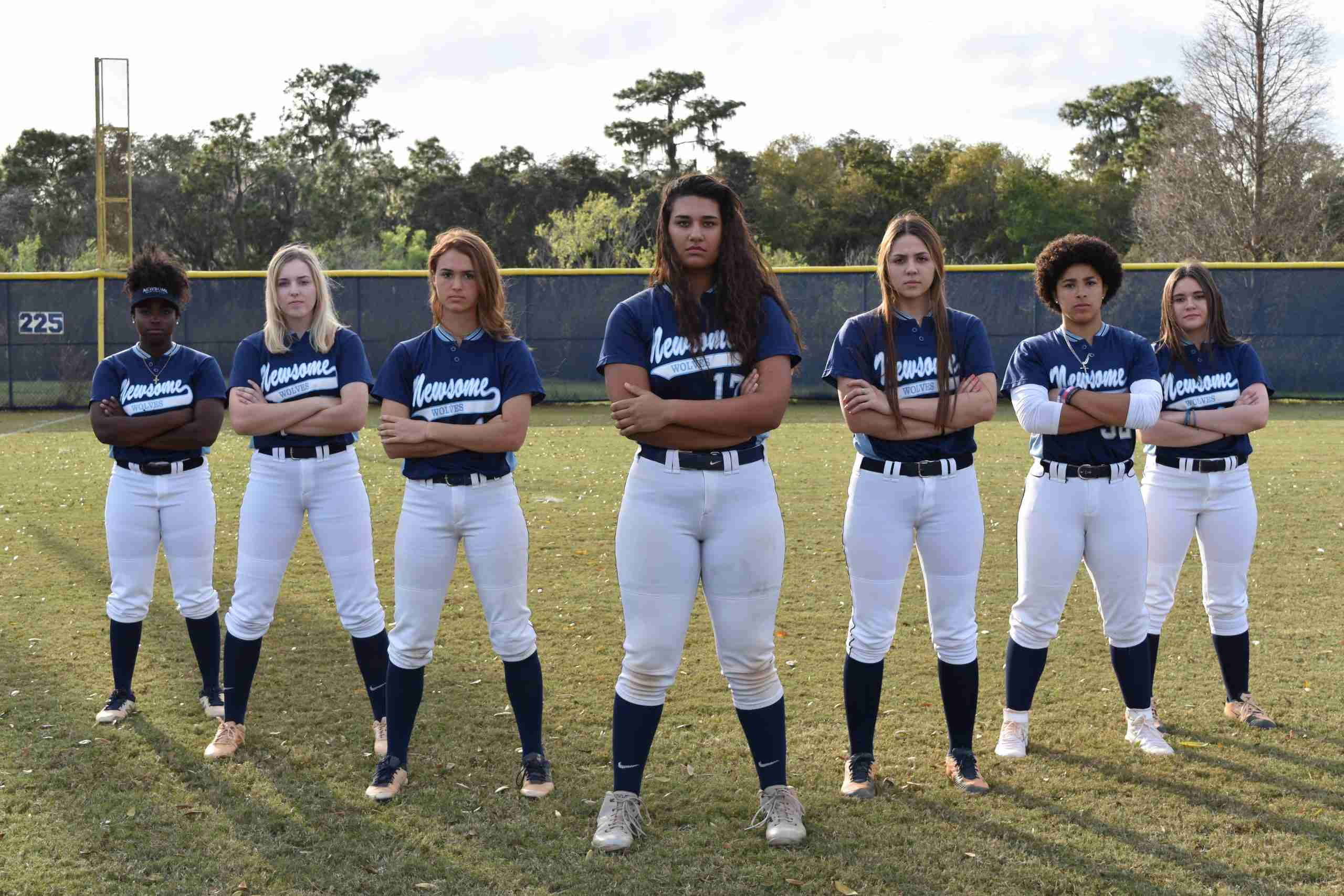 Newsome's softball seniors