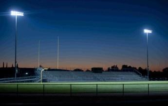 Stock football stadium