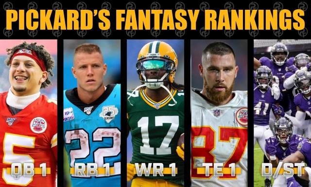 Pickard's Fantasy Football Dynasty Rankings