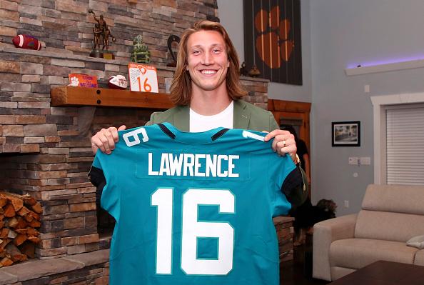 Jacksonville Jaguars true or false: Trevor Lawrence
