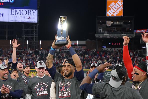Atlanta NLCS Champs over Dodgers 2021