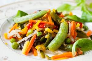 Fried Assorted Vegetables