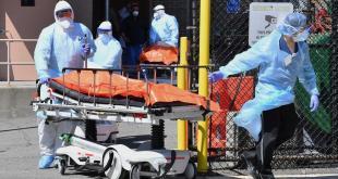 EEUU registró más muertos por covid-19 en el mundo el viernes