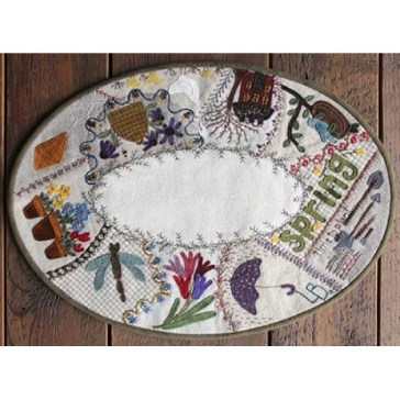 Spring Crazy Table Mat