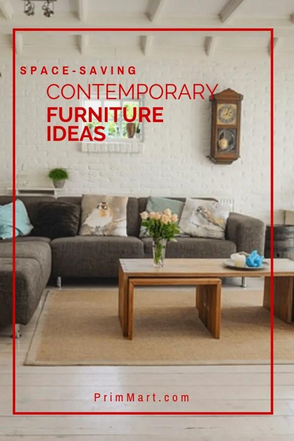Space-Saving Contemporary Furniture Ideas