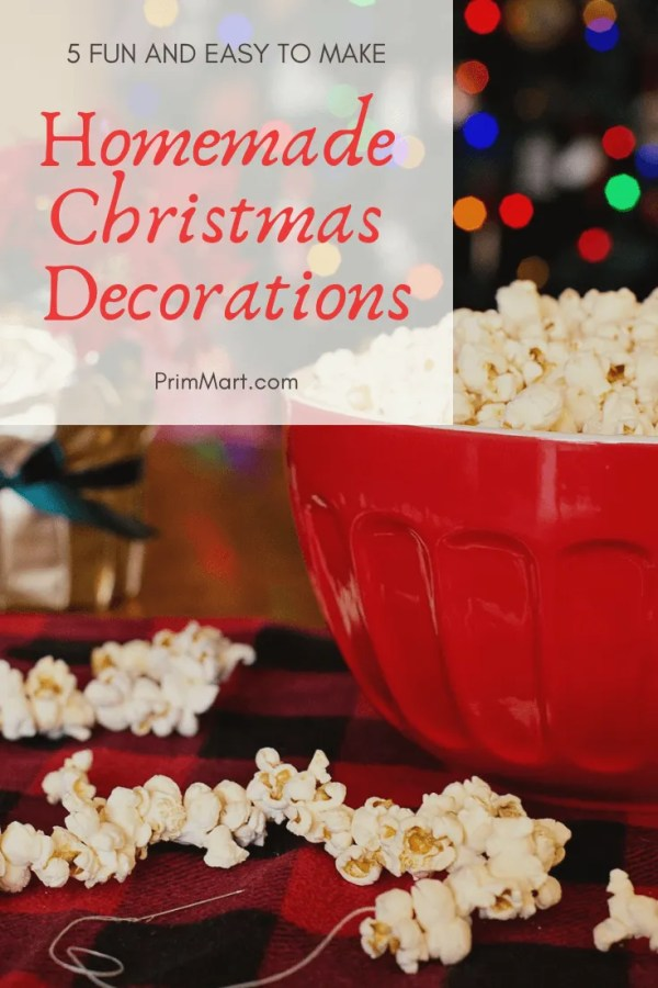 Homemade Christmas decorations are some of the most unique. You create happy memories together while decorating your home with your family.
