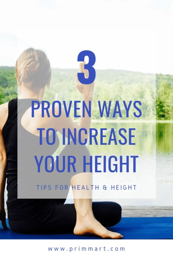 Studies show being tall comes has its benefits. Plus, our risk to lose height increases with age. But, here's some helpful tips to increase your height.