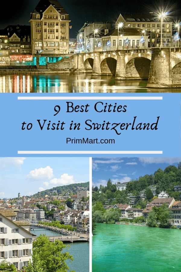 Switzerland is never in short supply when it comes to the beautiful scenery. Especially when it comes to the nine best cities to visit in Switzerland.