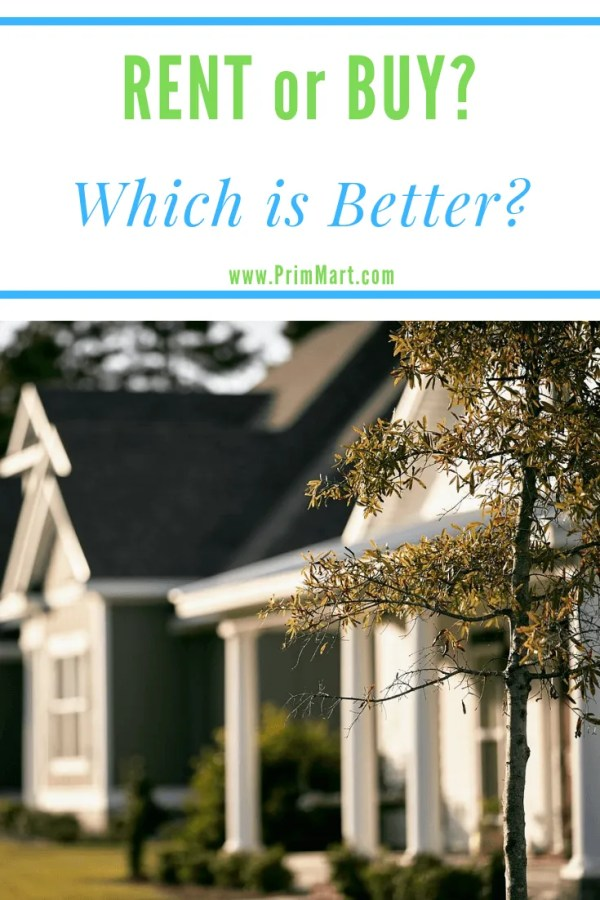 At some point we all ask this question: Is It Better to Rent or Buy a Home? We're sharing some pro's and con's of each to help you decide which is better for you.