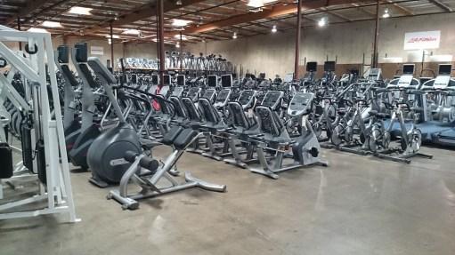 Used gym equipment warehouse