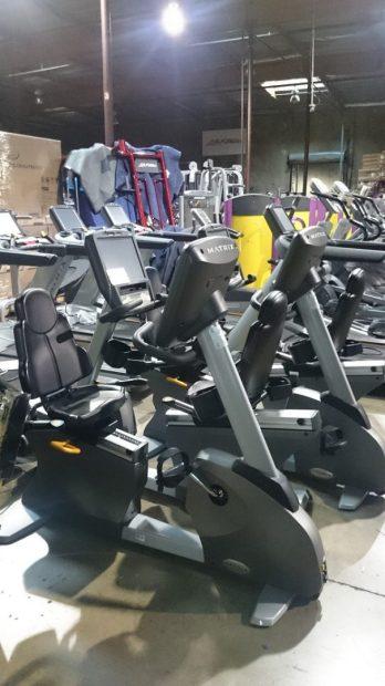 Matrix Touchscreen Recumbent Bike 1