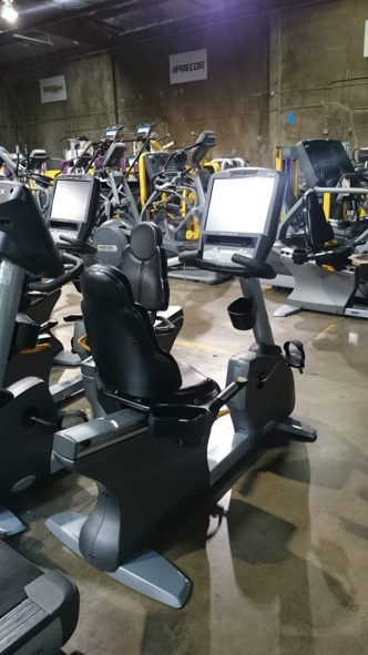Matrix Touchscreen Recumbent Bike 4