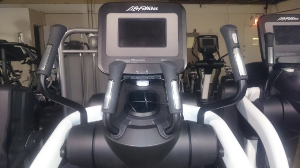 Life Fitness FlexStrider Trainer with Discover SI 3