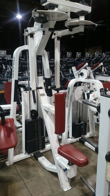 Precor strength line (white) 3