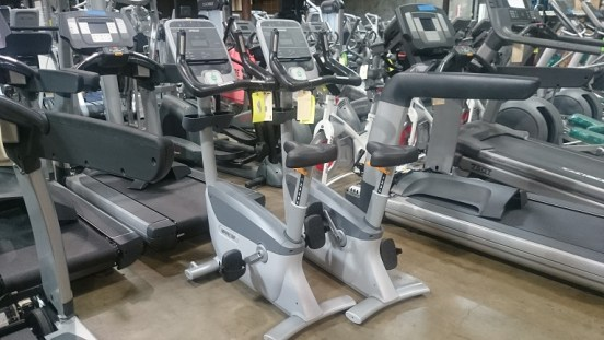 Precor UBK 815 Upright Bike 4