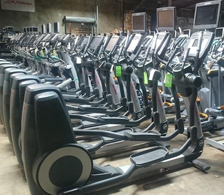 2x Life Fitness 95X Inspire Elliptical