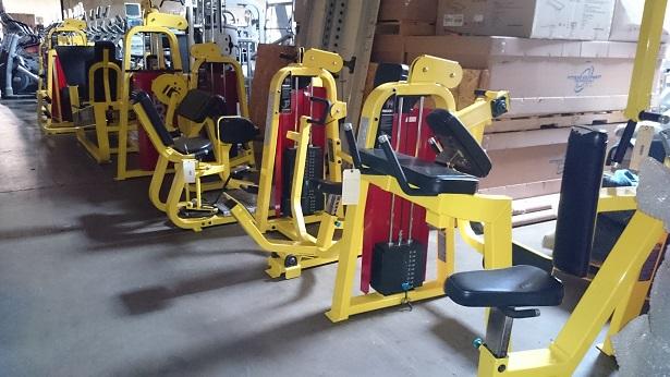 Precor Icarian Strength Line (Yellow) 4
