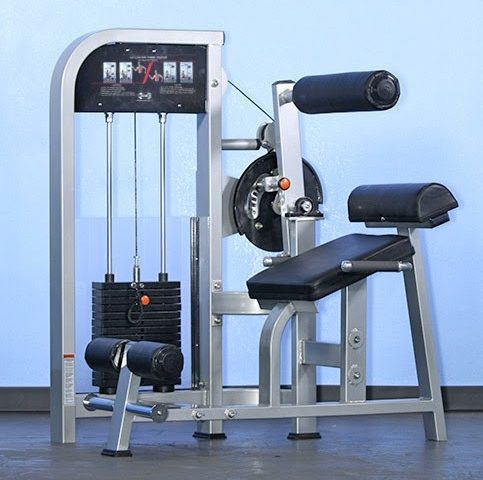Muscle D Dual Function Ab/Back Combo MDD-1005