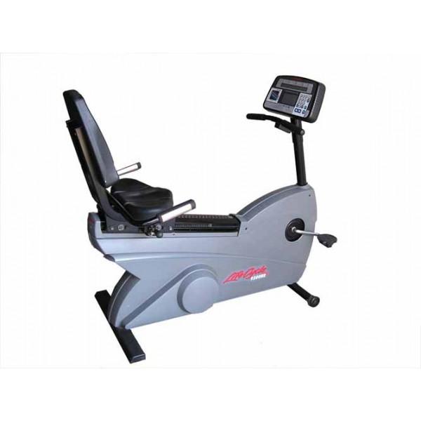 Life Fitness 9500HR Dovetail Recumbent Bike