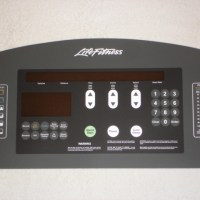 Life Fitness 95Ti Display Overlay