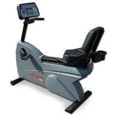 Life Fitness 9100 Dove Tail Recumbent Bike
