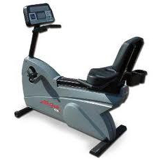 Life Fitness 9100 Dove Tail Recumbent Bike