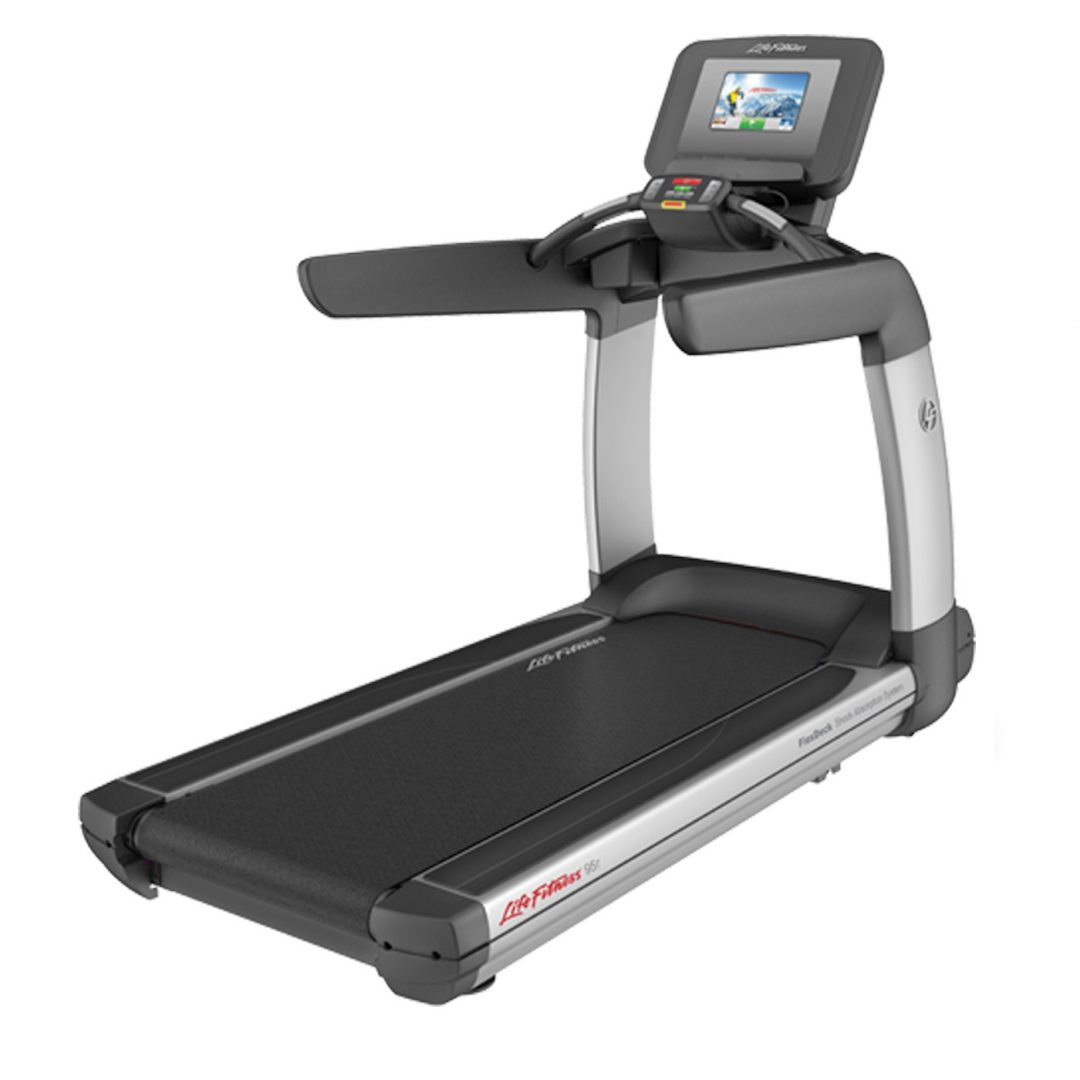 Life Fitness Treadmill Operation Manual: Life Fitness Discover SI Treadmill