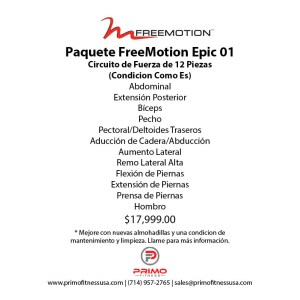 Paquete FreeMotion Epic 01