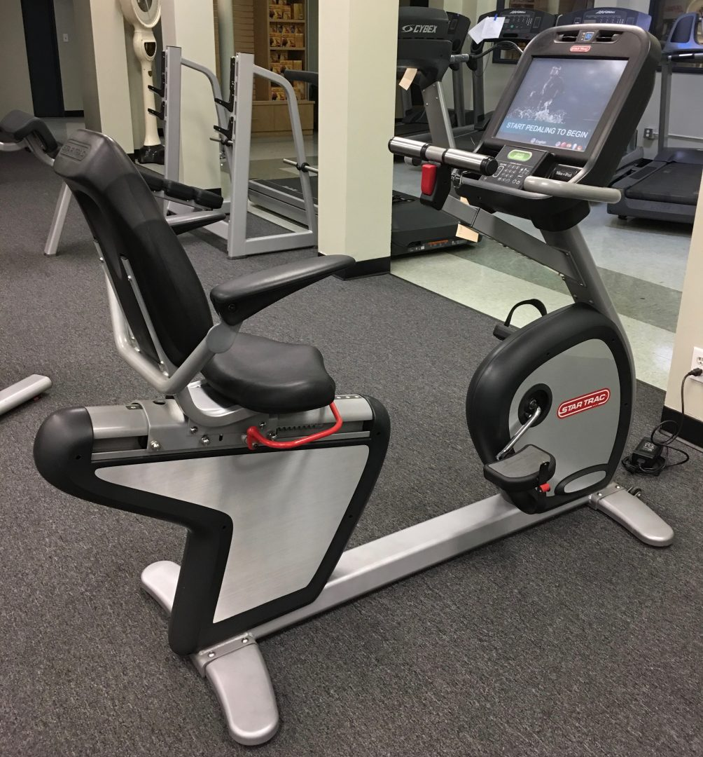 66a0d3623bb Star Trac E-RB Recumbent Bike with Touch Screen - Primo Fitness